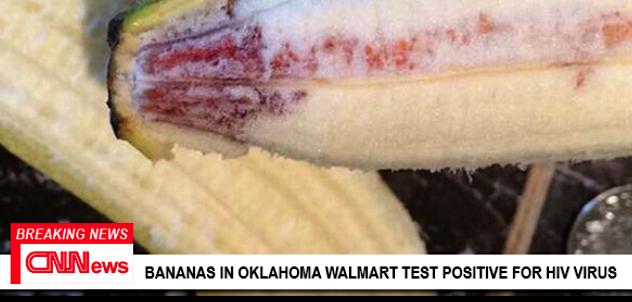 Fake News Alert: Eight Children Contract HIV From Walmart Bananas - POZ