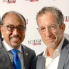 UNAIDS executive director Michel Sidibé and End AIDS Coalition founder Kenneth Cole