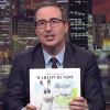 John Oliver introduces his Marlon Bundo book.