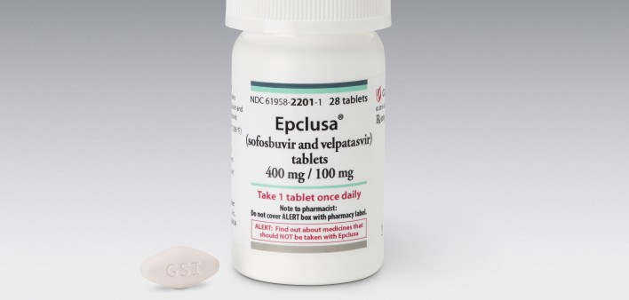 Eight Weeks of Gilead's Epclusa Cures High Rate of Hep C in Opioid