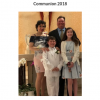 My daughter's first communion (left) and my son's, three years apart. I guess if nothing else, we can all agree that I look hella different from 2015 and 2018.