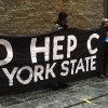 New York activists urge Governor Andrew Cuomo to create a statewide strategy to eliminate hepatitis C.