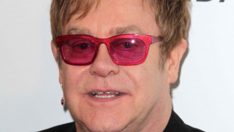 Elton John at the Elton John Aids Foundation 21st Academy Awards Viewing Party, West Hollywood Park, West Hollywood, CA 02-24-13