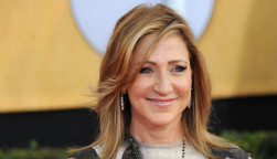 Edie Falco at the 20th Annual Screen Actors Guild Awards at the Shrine Auditorium.