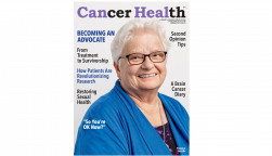 Cancer Health Spring 2019 cover