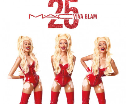 MAC Viva Glam's new campaign stars Winnie Harlow in an homage the first Viva Glam campaign